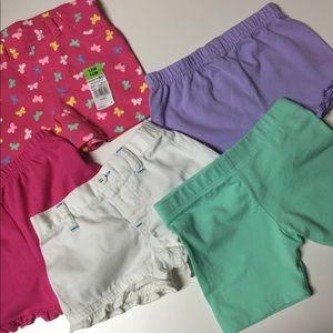 12 Mos shorts. Healthtex, Garanimals